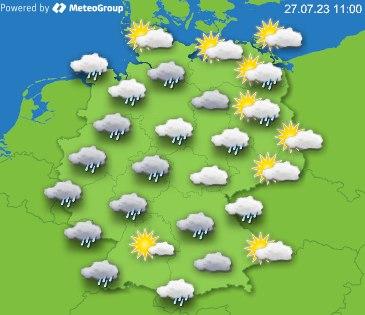 Ausführlichen bericht für deutschland von meteogroup bei wetter24 de