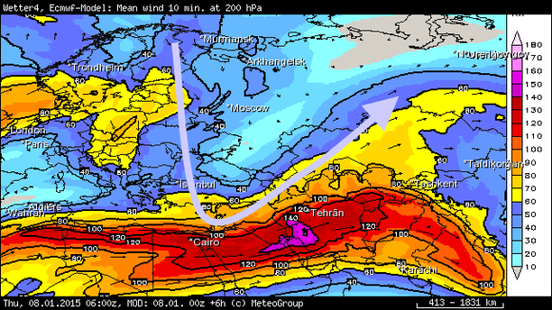 Wind 200 hPa