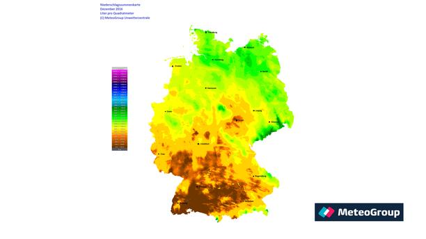 höchste und niedrigste temperatur in deutschland