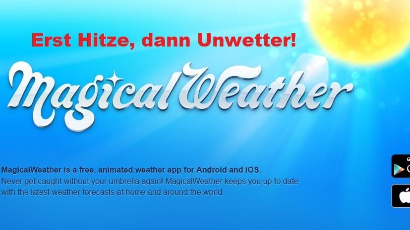 warum wetter app